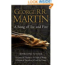 A Game of Thrones: The Story Continues Books 1-4: A Game of Thrones, A Clash of Kings, A Storm of Swords, A Feast for Crows (A Song of Ice and Fire)