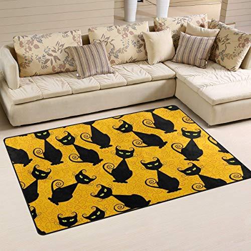 ck Cats Pattern Area Rug Rugs Non-Slip Indoor Outdoor Floor Mat Doormats Home Decor Size:16 X 24(40x60cm) ()