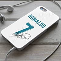 Telefonkasten REAL MADRID Cristiano Ronaldo Hülle Fußball Case Handyhülle Abdeckung Etui Vandot Schutzhülle iPhone X, 8, 8+ , 7, 7+, 6S, 6, 6S+, 6+, 5, 5S, 4S, 4