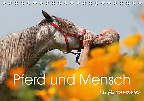 Pferd und Mensch in Harmonie (Tischkalender 2017 DIN A5 quer): Harmonische Momente mit Pferden im Bild festgehalten (Monatskalender, 14 Seiten ) (CALVENDO Tiere), Buch