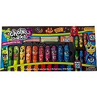 Chalk-a-Doos BHBUSAZIN028004 Weevil Side Walk w/Chalk Holder 53Pc Dinosaurs