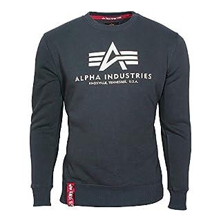 Alpha Industries Herren Sweatshirt blau M