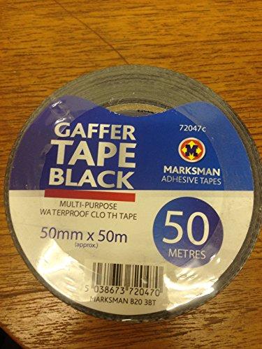 masksman-50mmx50m-waterproof-adhesive-heavy-duty-50meter-gaffer-cloth-duct-tape-binding-marking-seal