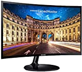 Samsung 27 inch (68.6 cm) Curved LED Monitor - Full HD, VA Panel with VGA, HDMI, Audio Ports - LC27F390FHWXXL (Black)