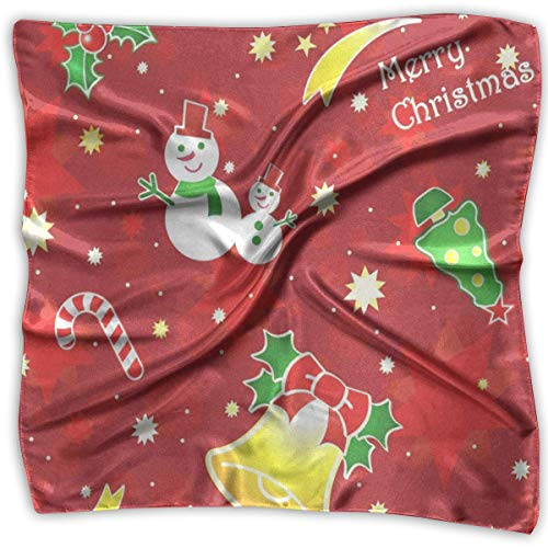 Christmas Santa Snow 1 Head & Neck Unisex Bandanas Tie for Man ()