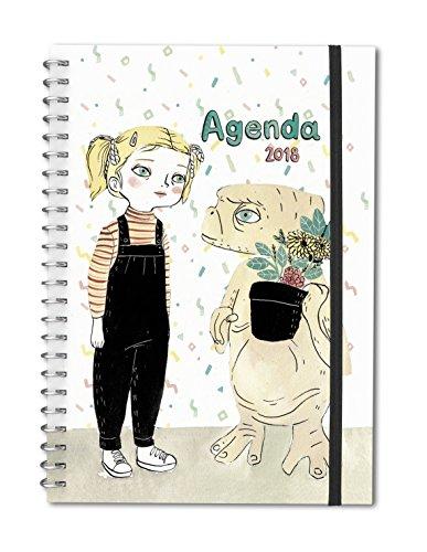 Agenda bolsillo 2018  María Hesse (TANTANFAN) por María Hesse
