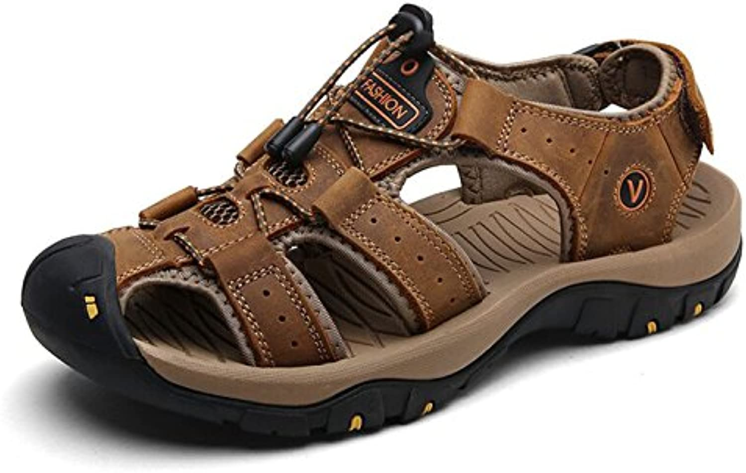 Genuine Leather Men Shoes Summer New Large Size Men's Sandals Men Sandals Fashion Sandals