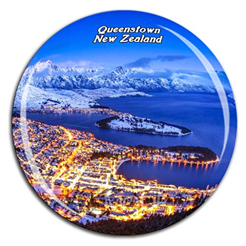 Weekino Queenstown Hill Neuseeland Kühlschrankmagnet 3D Kristallglas Tourist City Travel Souvenir Collection Geschenk Stark Kühlschrank Aufkleber