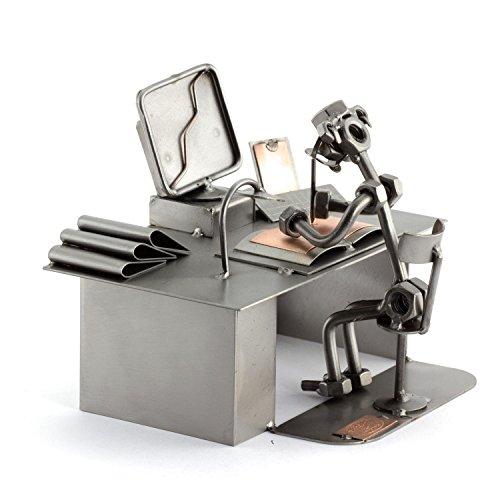 Steelman24 I Schraubenmännchen PC Computer I Made in Germany I Handarbeit I Geschenkidee I Stahlfigur I Metallfigur I…