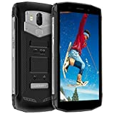 Blackview BV5800 Outdoor Smartphone, Android 8.1 Smartphone 16GB ROM + 2GB RAM 5580mAh 5A/2A Schnellladung Robust Handy, 13MP + 8MP Kameras 18:9 + 5.5 Zoll Display Dual 4G Smartphone, Schwarz