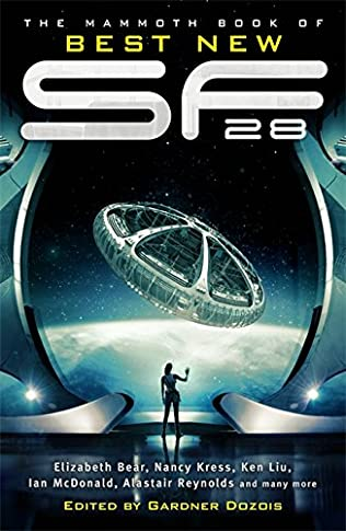 book cover of The Mammoth Book of Best New SF 28