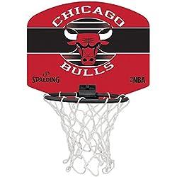 Spalding NBA Team Mini Board Plusieurs équipes avec Balle, Chicago Bulls