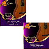 2 x Coban Guitars Premium pcg1 classique nylon tension Normale Cordes 28-43.