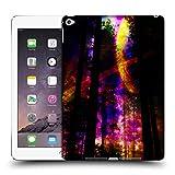 Head Case Designs Offizielle Haroulita Saturn-Blitz Raum Ruckseite Hülle für iPad Air 2 (2014)