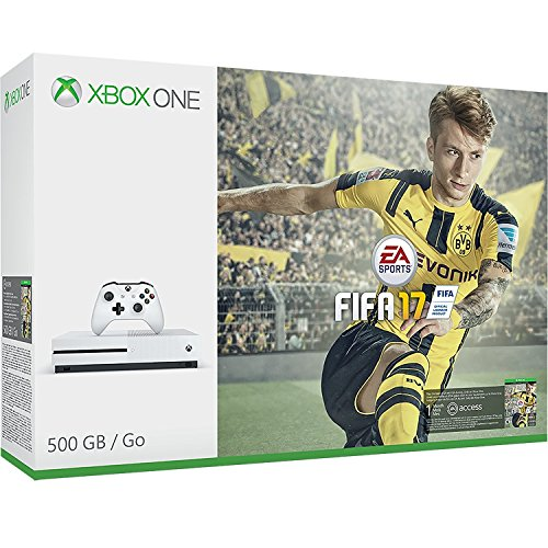 Xbox One S 500 GB with FIFA 17 Game