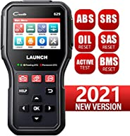 LAUNCH CR629 Scan Tool ABS SRS OBD2 Scanner Car Code Reader with Active Test, Oil/SAS/BMS Reset, Full OBD2 Fun