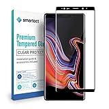 smartect Protector de Pantalla Completo para Samsung Galaxy Note 9 [3D Curvado] - 9H Cristal Templado - Diseño Ultrafino y Completo - Instalación Sin Burbujas - Anti-Huellas