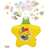 Kids Play New Born Toys - Little Angel Baby Sleeping Star Projector With Star Light Show And Music