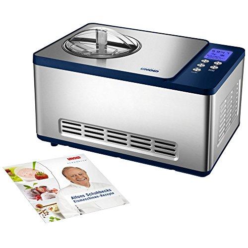 emma eismaschine UNOLD Eismaschine Schuhbeck exklusiv, mit Kompressor, 1,5 Liter Eiscreme, 48818