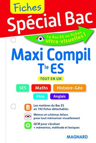 2017 Special Bac Maxi Compil de Fiches Term Es par Collectif