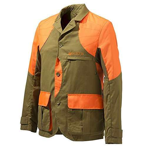 berettaberetta - Herren Leichte Jacke Upland - Hellbraun/Orange HV, Herren, Mens Upland Light Jacket - Light Brown/Orange Hv L, BROWN.ORANGE -