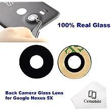 Cemobile Recambio Para Cubre Lente de la Cámara Trasera Con Adhesivo Para LG Google Nexus 5X H791 H791 H795