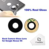 Cemobile lente vetro fotocamera posteriore con adesivo per LG Google Nexus 5X H791 H791 H795