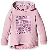 s.Oliver Mädchen Sweatshirt mit Kapuze, mit Print, Gr. 116 (Herstellergröße: 116/122), Rosa (Pink 4163)
