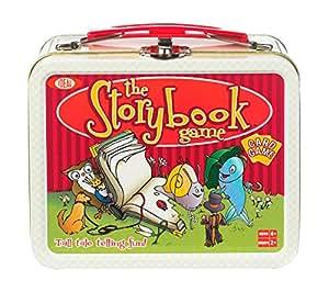 Poof-Slinky 0X4266 Id-al Le Jeu de Cartes M-moire Storybook avec Mini collection Tin Lunch Box Conteneur de stockage, 54-Colorfully cartes illustr-es