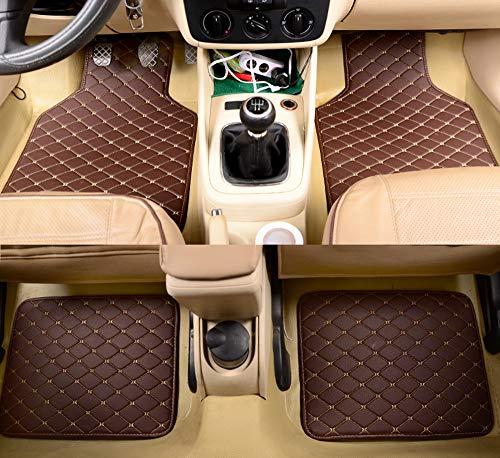 YRRA Car Personalizzati Tappetini Compatibile con RCZ 307 SW 607 206 207 308 301 407 308 408 508 2008 4008 5008 3008 Car Mats Accessori per Automobili,F