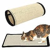 LQZ(TM) Kratzmatte Kratzteppich Kratzbrett für Katze, aus Sisal umweltfreundlich, 40x30cm