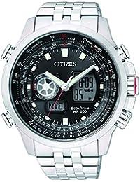Citizen Herren-Armbanduhr XL Promaster Sky Analog - Digital Quarz Edelstahl JZ1060-50E