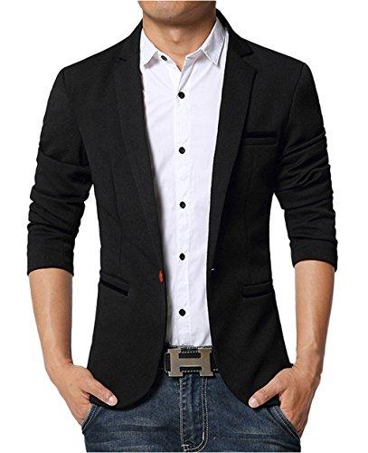 Giacca Maniche Nero Giacca Suit Lunghe BELLAUomo Ebay Abbigliamento 7awxnp