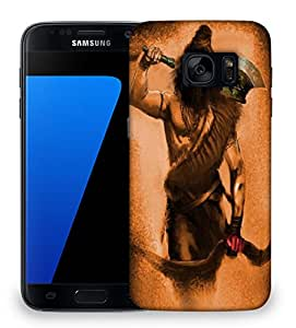 Snoogg Mahadev'S Trip Designer Protective Back Case Cover For Samsung Galaxy S7