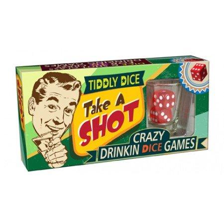 Cheatwell Games Juego de Dados Take A Shot 6 Unidades (05713), Varios