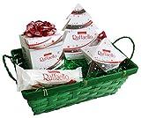 Geschenk Set Merry Christmas mit Ferrero Raffaello (4-teilig)