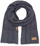 camel active Men's 4V22 Scarf, Blau (Denim Blue 40), One Size