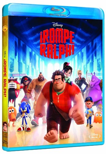 ¡Rompe Ralph! [Blu-ray] 51Z9j2EQsaL