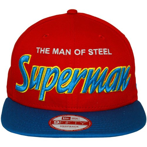 New Era x DC Comics - Casquette Snapback Homme 9Fifty Reverse Hero Word - Superman