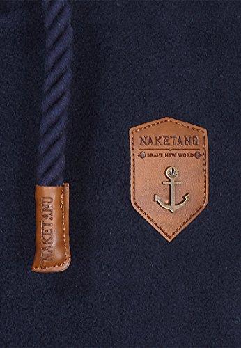 Naketano Male Zipped Jacket Mach Et Otze V Dark Blue