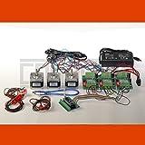 3D CNC USB Schrittmotor-Steuerung Fresadora mit Software, Netzteil, 3 x NEMA 17 Motoren (1,7 A) und 3 mechanischen Endschaltern