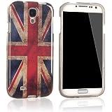 tinxi® Silikon Schutzhülle für Samsung Galaxy S4 GT-I9500 Silicon Cover Rückschale Tasche Case Etui in UK England Union Großbritannien Flagge