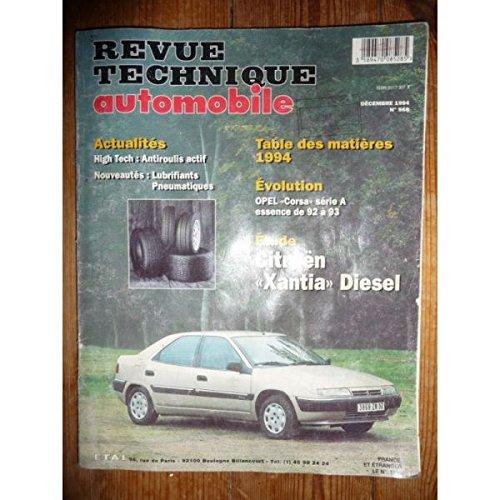 Rta-revue Techniques Automobiles - Xantia Die Revue Technique Citroen Etat - Bon Etat Occasion par RTA