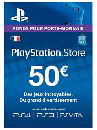 Playstation Network Card 50 EUR
