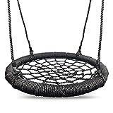 HIKS Childrens Kids Rope Garden Birds / Crows Nest Spider Web Swing Seat 65cm