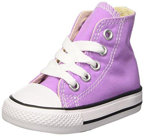 Converse Unisex-Kinder Ctas Hi Sneakers Violett (Fuchsia Glow)
