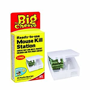 The Big Cheese RTU Mouse Kill Station (Twinpack)