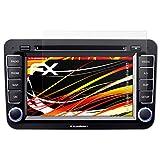 atFoliX Folie für Blaupunkt Philadelphia 835 Displayschutzfolie - 3 x FX-Antireflex-HD hochauflösende entspiegelnde Schutzfolie