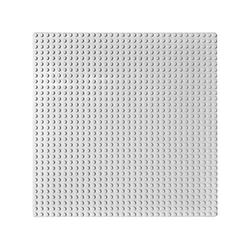 32x32 Dot Grundplatte Große Größe Große Grundplatte Bodenplatte für Figur DIY Baustein Spielzeug 100% Kompatibel mit Lego (4 Packung),Gray - Lego Großen Grundplatten