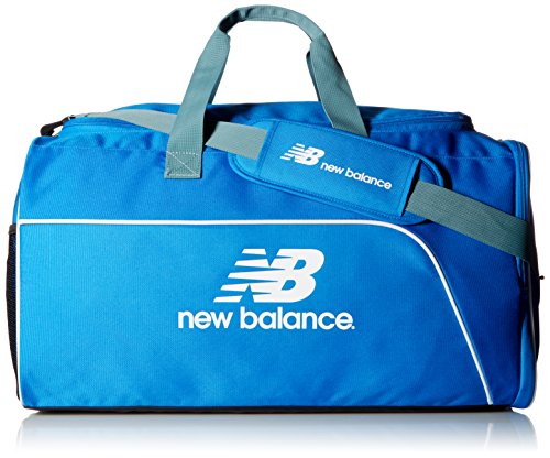 New Balance Training Day Duffel Bag, Unisex, Electric Blue, Medium